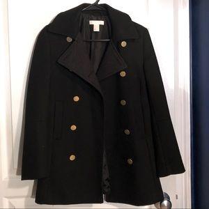H&M military style pea coat